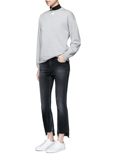 T By Alexander Wang French terry cotton blend sweatshirt