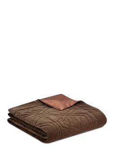 FretteLuxury Biba velvet king size light quilt