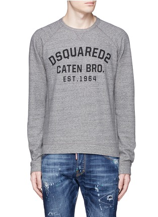 Main View - Click To Enlarge - Dsquared2 - Logo print sweatshirt