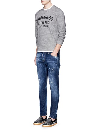 Figure View - Click To Enlarge - Dsquared2 - Logo print sweatshirt