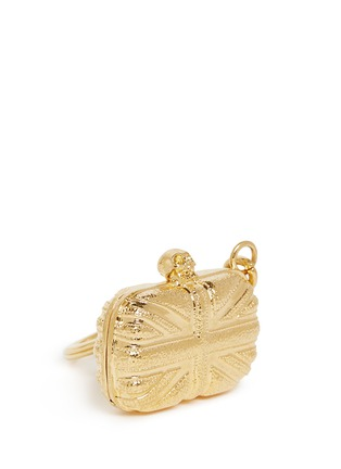 Detail View - Click To Enlarge - Alexander McQueen - 'Britannia' skull clutch keyring