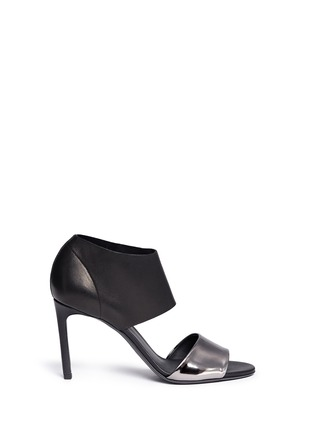 Vince-'Stephanie' mirror band stretch leather sandals