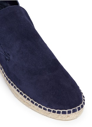 细节 - 点击放大 - VINCE - 'Ronan' suede slip-on espadrille desert boots