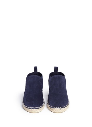 模特儿示范图 - 点击放大 - VINCE - 'Ronan' suede slip-on espadrille desert boots