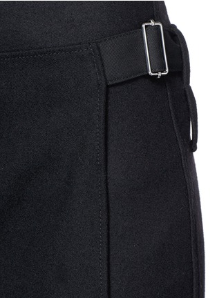 Detail View - Click To Enlarge - 3.1 Phillip Lim - Apron front stitch down cuff pants