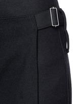 Apron front stitch down cuff pants