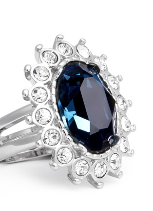 Detail View - Click To Enlarge - Kenneth Jay Lane - Sapphire crystal ring