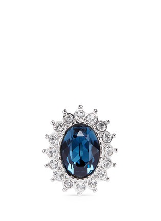 Main View - Click To Enlarge - Kenneth Jay Lane - Sapphire crystal ring