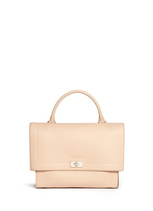 Givenchy - 'Shark' medium leather flap bag