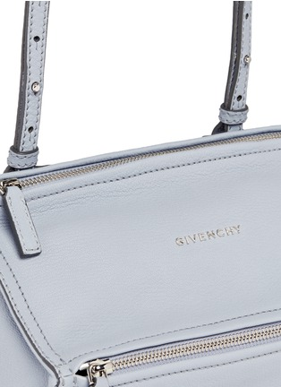 Detail View - Click To Enlarge - Givenchy - 'Pandora' mini sugar leather bag