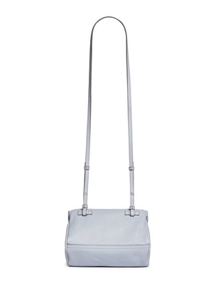 Back View - Click To Enlarge - Givenchy - 'Pandora' mini sugar leather bag