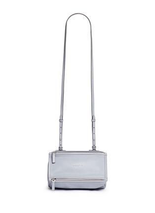 Main View - Click To Enlarge - Givenchy - 'Pandora' mini sugar leather bag