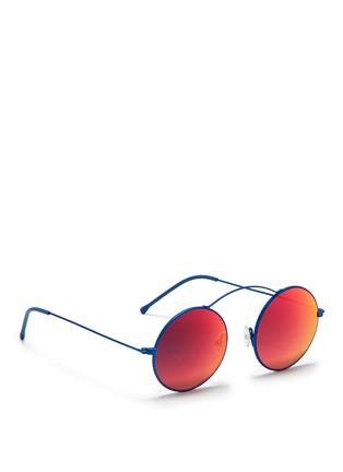 Figure View - Click To Enlarge - Spektre - 'MET-RO' lightweight round metal sunglasses