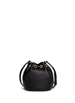 Back View - Click To Enlarge - Michael Kors - 'Jules' leather crossbody bucket bag