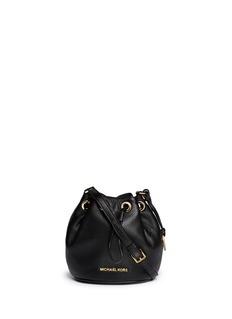 MICHAEL MICHAEL KORS'Jules' leather crossbody bucket bag