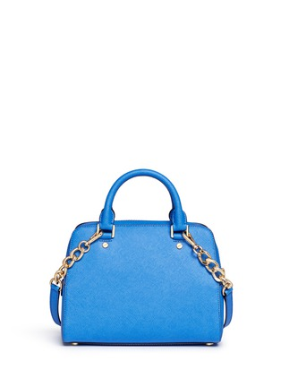 Back View - Click To Enlarge - Michael Kors - 'Jet Set Travel' medium saffiano leather satchel