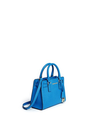 Front View - Click To Enlarge - Michael Kors - 'Dillon' small saffiano leather satchel