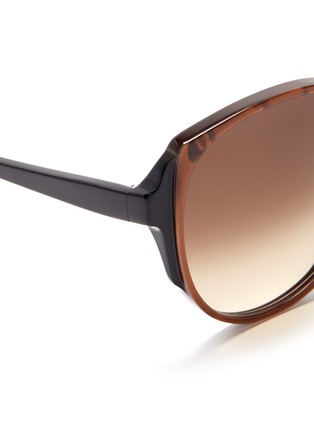 Detail View - Click To Enlarge - Victoria Beckham - 'Granny Cat' sunglasses