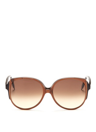 Main View - Click To Enlarge - Victoria Beckham - 'Granny Cat' sunglasses