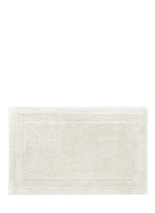 Main View - Click To Enlarge - Abyss - Super Pile large reversible bath mat — Ivory