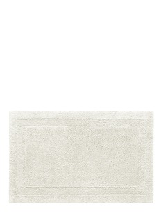 Abyss Super Pile large reversible bath mat — Ivory