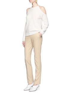Theory 'Tennyson' cotton blend tailored pants