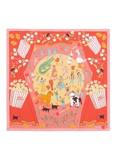Karen Mabon'Gifting Theater' silk crepe de Chine scarf