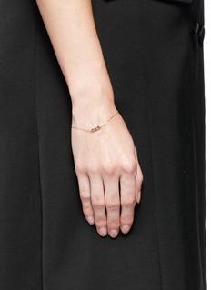 Xiao Wang'Stardust' diamond 14k yellow gold chain bracelet