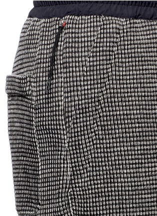 Detail View - Click To Enlarge - NLST - Bouclé knit sweat shorts
