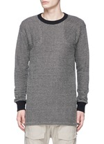 Bouclé knit sweater