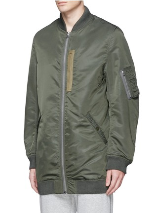 Front View - Click To Enlarge - NLST - Oversized flight jacket