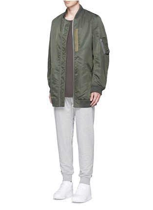 Figure View - Click To Enlarge - NLST - Oversized flight jacket