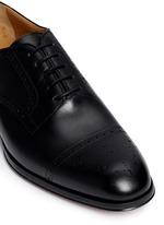 'Alameda' Richelieu brogue leather Oxfords