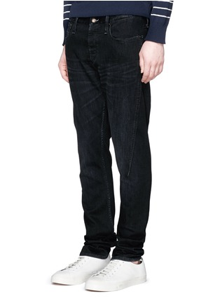 Front View - Click To Enlarge - Denham - 'Cross' carrot fit jeans
