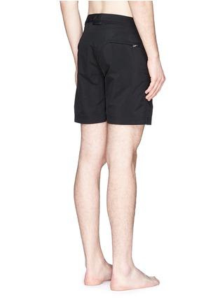 Back View - Click To Enlarge - Orlebar Brown - 'Bulldog' mid-length swim shorts
