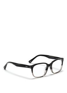 RAY-BAN'RB5340' tortoiseshell ombré effect acetate optical glasses