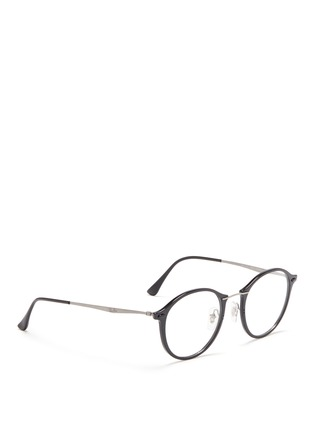 Figure View - Click To Enlarge - Ray-Ban - 'RB7073 Light Ray' titanium temple optical glasses
