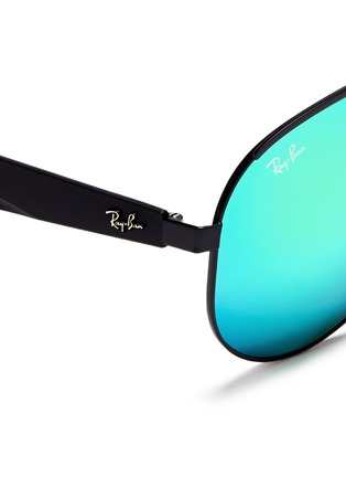 Ray-Ban - 'RB3523' metal aviator mirror sunglasses