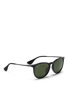 RAY-BAN'Erika' acetate frame metal temple sunglasses