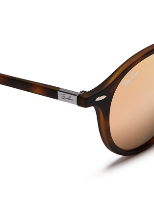 Ray-Ban - 'RB4237 Liteforce' thermoplastic round mirror sunglasses