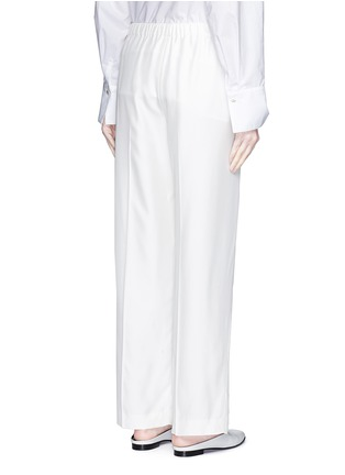 Back View - Click To Enlarge - The Row - 'Daray' twill wide leg pants