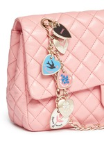 Valentine's special edition 2.55 quilted lambskin leather bag