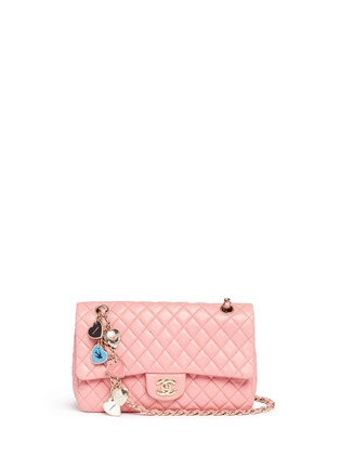 Main View - Click To Enlarge - Vintage Chanel - Valentine's special edition 2.55 quilted lambskin leather bag