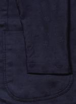 Skull jacquard soft blazer
