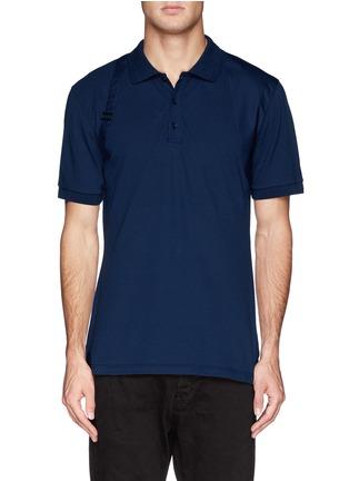 首图 - 点击放大 - ALEXANDER MCQUEEN - Poplin harness polo shirt