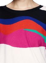 Matisse heart motif knit tunic dress