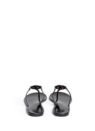 Back View - Click To Enlarge - Tory Burch - 'Mini Miller' jelly thong sandals