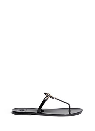 Main View - Click To Enlarge - Tory Burch - 'Mini Miller' jelly thong sandals