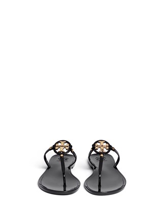 Figure View - Click To Enlarge - Tory Burch - 'Mini Miller' jelly thong sandals