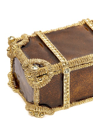 Detail View - Click To Enlarge - LANE CRAWFORD - Treasure chest jewellery box